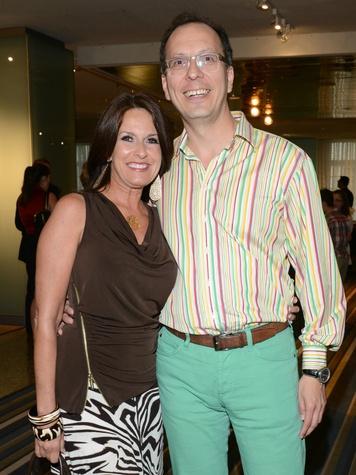 Susan Elzner, Robert Hernandez, HFAF Dallas Party