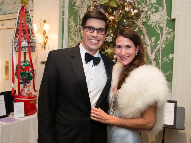 18 John and Kristen Berger at the Trees of Hope Gala November 2014.