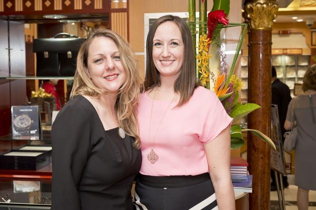 9. Kathryn Lott, left, and Allison Lott at the Houston Grand Opera Ovation Awards April 2015
