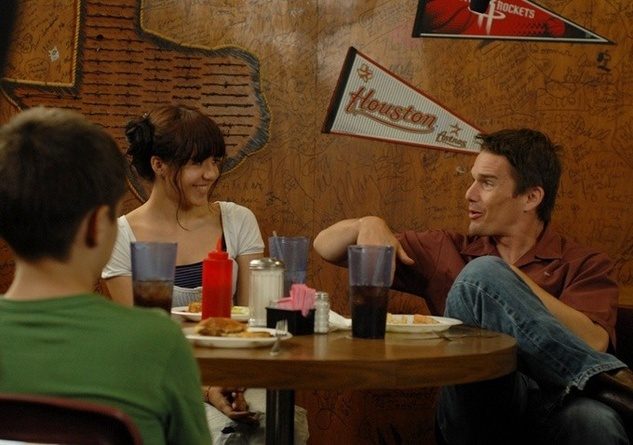 Boyhood Ethan Hawke, Eller Coltrane, Lorelei Linklater