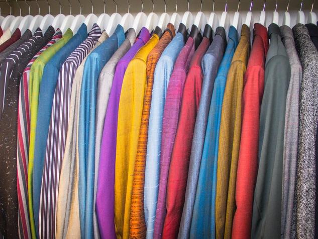 Carlos Cardoza's closet