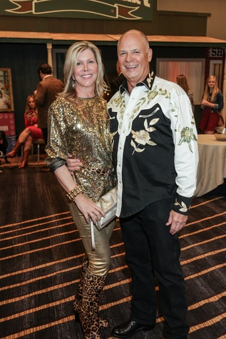 Amy Robinette and Hal Martin at the Citizens for Animal Protection Gala November 2014