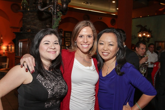 News, Shelby, Mayor's Hispanic Holiday Party, December 2014, Catarina Gonzales Cron, Jenn Char, Miya Shay
