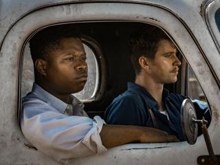 Jason Mitchell and Garrett Hedlund in Mudbound