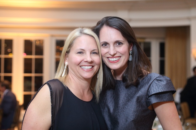 1425 Tiffany Utterson, left, and Val Burguieres at the Sire Under the Stars event March 2015