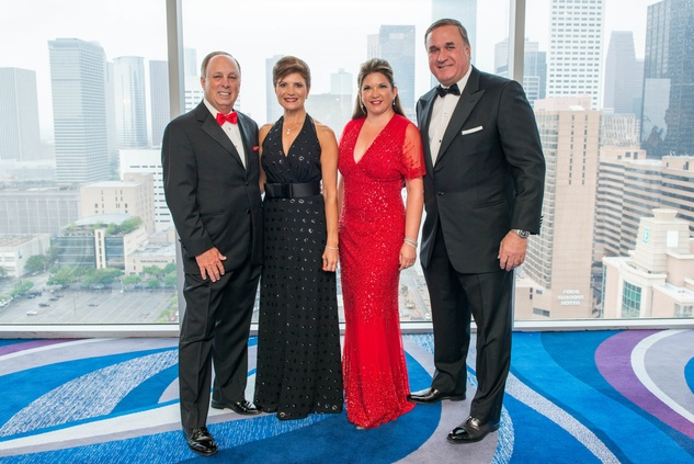 Dan and Lori Wolterman, from left, and Leticia and Steve Trauber at the Circle of Life Gala April 2015
