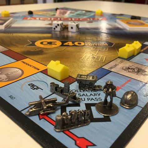OE Monopoly Tokens