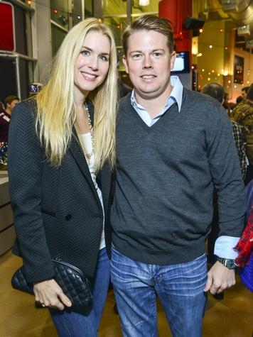 13 Audrey and Brandon Cochran at the DePelchin Friday Night Lights Gala November 2013
