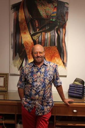 Robert Graham founder unleashes every man's inner peacock ... Robert Graham Designer