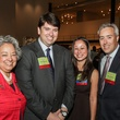 Lenora Sorola Pohlman, from left, Daniel Morales, Lauren Soliz and Chris Canonico at the Mayor's Hispanic Heritage Awards event October 2014