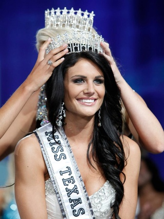 Miss Texas USA 2013, Ali Nugent, September 2012