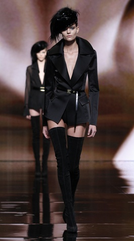 Donna Karan Collection Look 1 February 2014