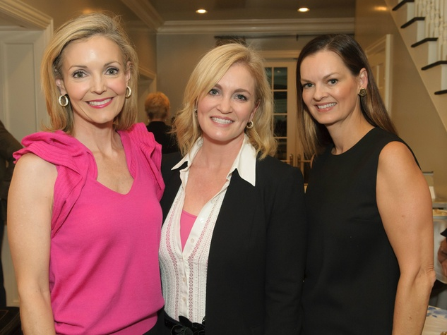Katherine Coker, Susan McSherry and Kim Miller, Celebrating Women