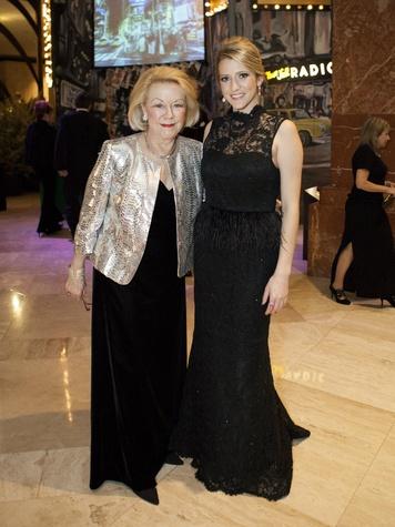Karen Seanor, Devin Cook at Crystal Charity Ball 2013