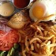Olivia Restaurant Shortrib hamburger