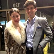 Valerie and Will Dittner at David Zyla at Atrium Ready to Wear January 2014