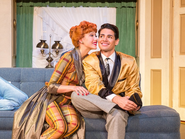 Broadway at the Hobby Center January 2015 I Love Lucy Thea Brooks (Lucy Ricardo) Euriamis Losada (Ricky Ricardo)