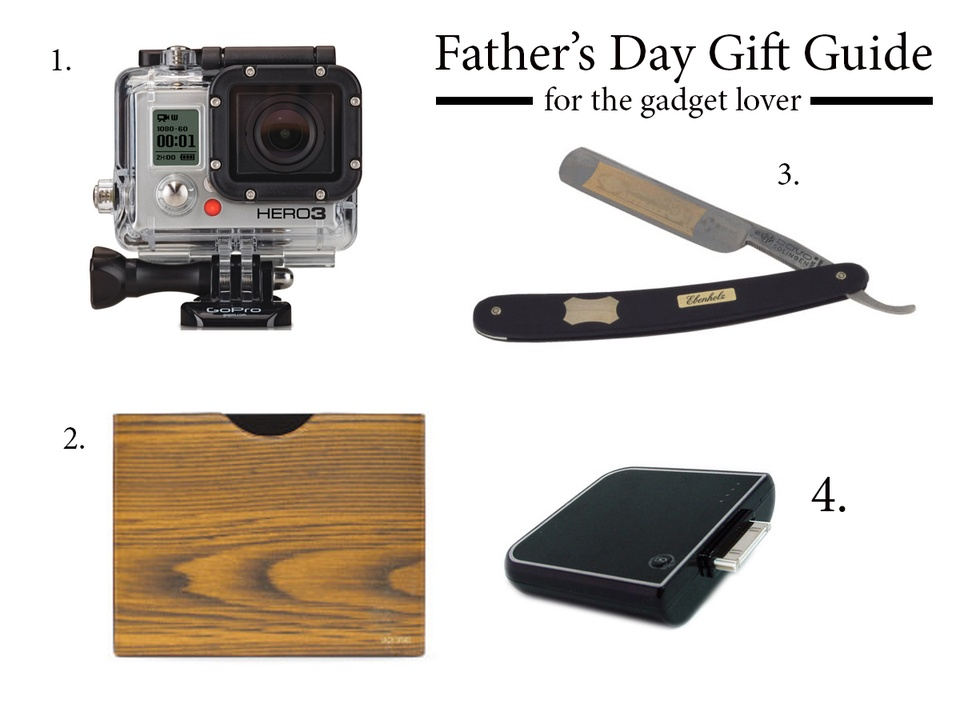 Father's day gift guide 2013 gadget