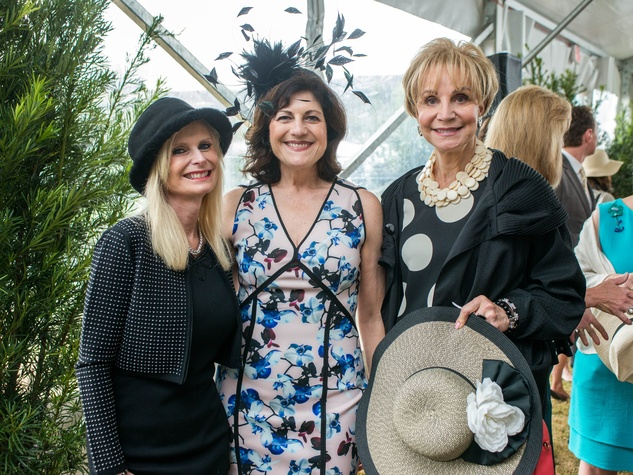 Hats in the Park, March 2016,  Jo Lynn Falgout, Ellie Francisco, Leisa Holland-Nelson
