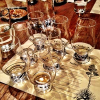 Darla, tequila, February 2013, Snifters of La Altena's Tapatio and Ocho