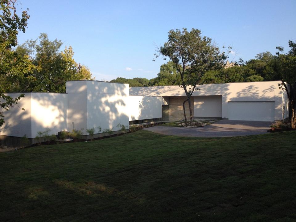 Austin Modern Home Tour 2014 6709 Vireo Cove Dr. exterior