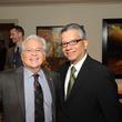 News, Shelby, Mayor Parker Award, Feb. 2015 Nicholas Kanellos, left, and David Ruiz