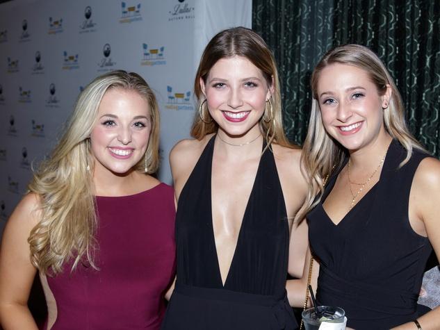 Madison McKay, Taylor Markey, Macey Davis, Autumn Ball 2017