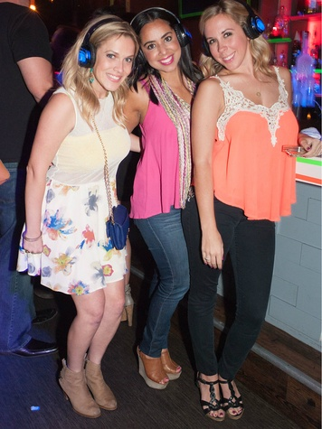 16.Jody Warner, Melissa Martinez, Kendall Maxwell, YFWC Sileny Disco Party