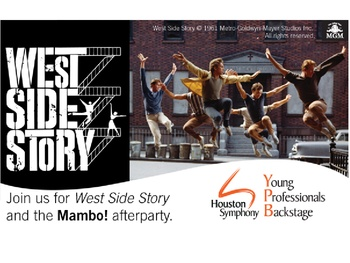 "Houston Symphony YPB ""MAMBO! West Side Story Concert + Afterparty"""