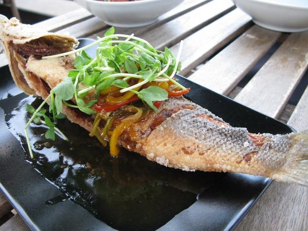 Mot Hai Ba whole fish