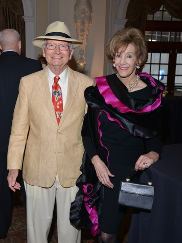 John and Margot Cater at the Houston Chamber Choir Gala April 2014