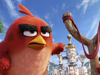 Scene from The Angry Birds Movie
