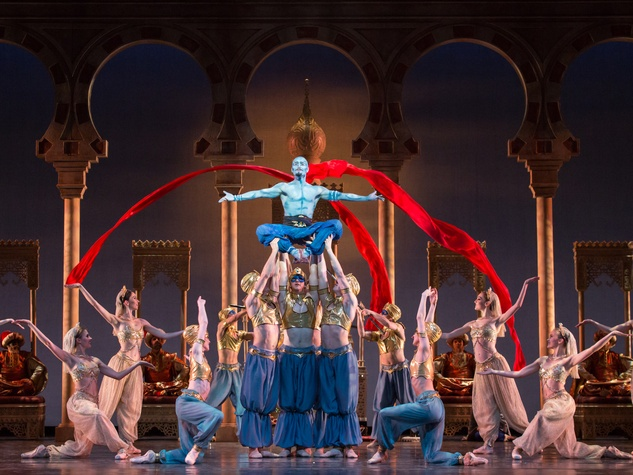 Houston Ballet Aladdin February 2014 William Newton and artists of the Houston Ballet choreographed by David Bintley
