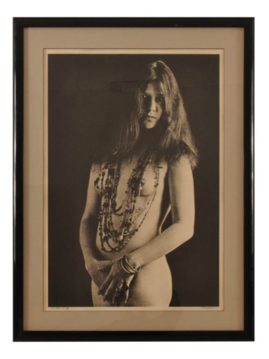 Eddie Wilson_Armadillo World Headquarters_Threadgill's_auction_Burley Auction Gallery_Janis Joplin nude portrait_Bob Seidemann