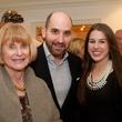 Nancy Allen, from left, Eduardo Garza and Jessica Crute at the Aga Khan Foundation presentation January 2014