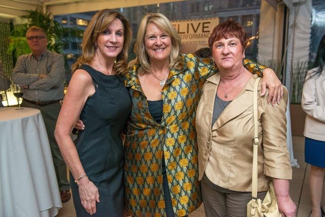 News, Shelby, Houston Cinema Arts Festival launch, Oct. 2014, Barbara Nagji, Amy Buck, Susan Holcomb