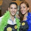 14 ESCAPE Celebrity Waiter Dinner April 2013 Mark Lopez, Diana Lopez