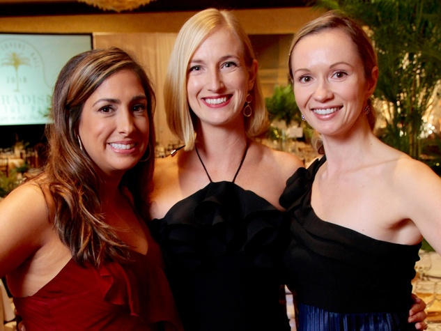 Houston, West University Park Lovers' Ball, February 2018, Alexa Burrow, Jessica Graham, Alex Inman
