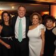 Houston Arts Alliance dinner 5/16, Regina Garcia, Marc Melcher, Philamena Baird, Trini Mendenhall