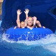 Water slide at Hawaiian Falls