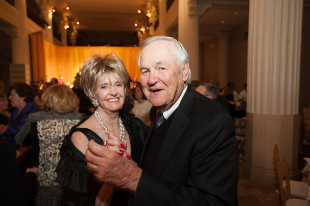 Harriet Hart and Sonny Wallace at The Women's Home Gala November 2014