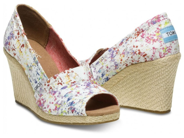 toms paint splash wedges