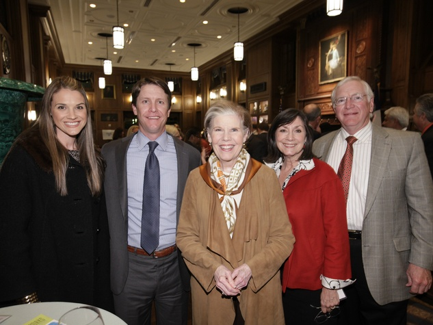 Molly and Stephen Holley, Mary Jalonick, Pagett and Mike Gosslee, good works under 40
