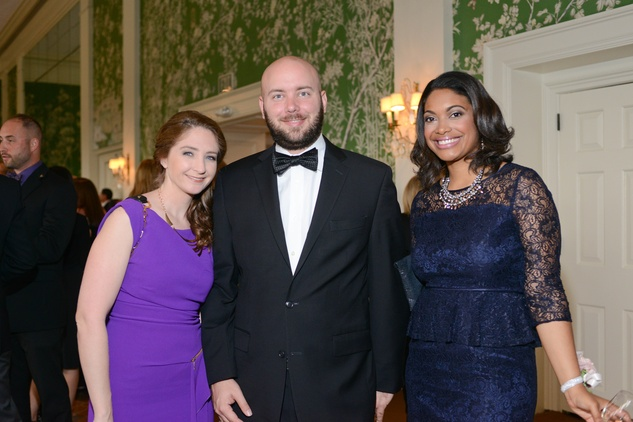 4 Angela Sturm-O'Brien and Jake O'Brien, from left, with Stephanie Bundage at the Leukemia & Lymphoma Society Man and Woman of the Year Gala June 2014