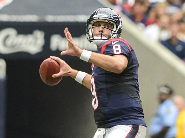 Matt Schaub Texans throw