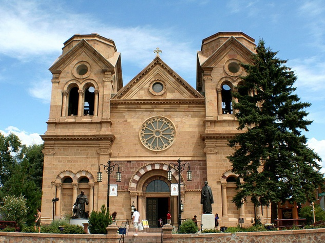 Cathedral of St. Francis in Santa Fe