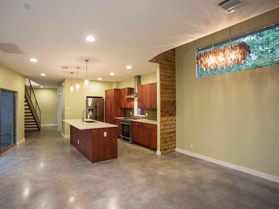 Modern Home Tour Austin_2112 Haskell_interior_2015