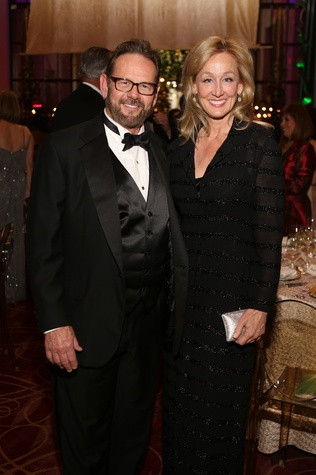 Stan Neely and Robyn Vermeil at the Houston SPA Society for the Performing Arts Gala March 2015