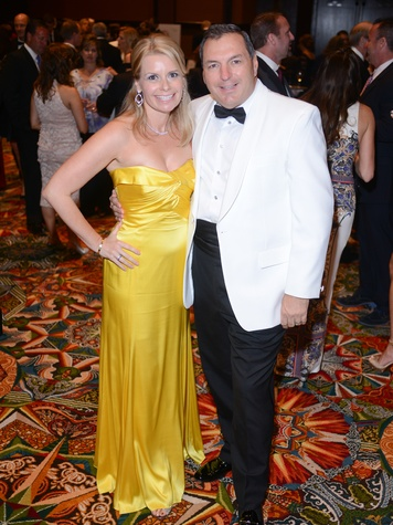 Valerie and Tracy Dieterich at the JDRF Gala April 2014