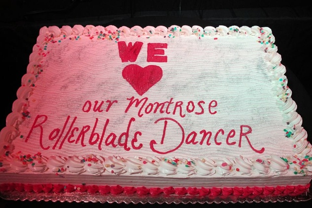 Juan Carlos America's Got Talent cake
